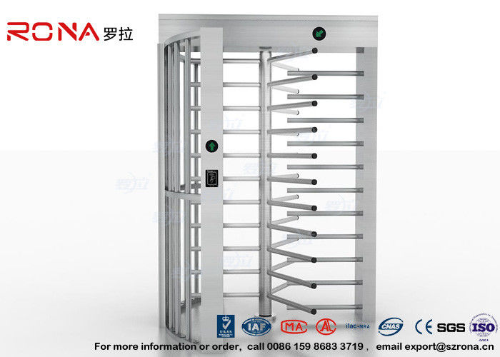 High Security Full High Turnstile Access Control Use for Prison With Stainless Steel