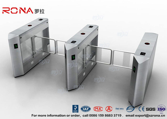 Security 900mm Swing Barrier Gate Handicap Accessible RFID Turnstyle Gates