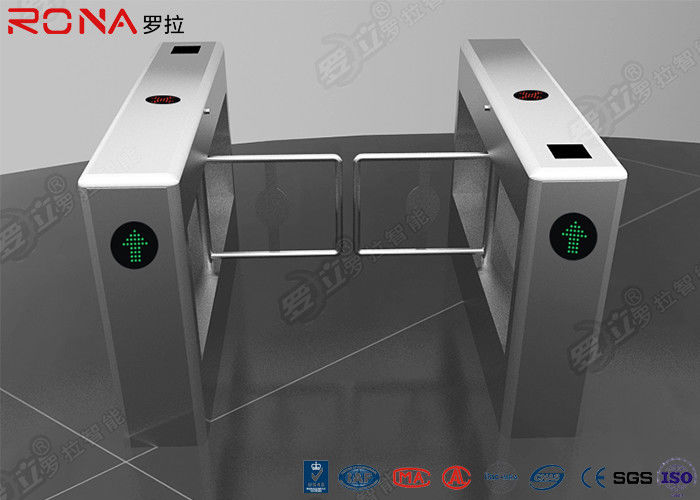 Auto Gate Swing Gate Turnstile Mechanism Rfid Door Opener 180° Arm Work Angle