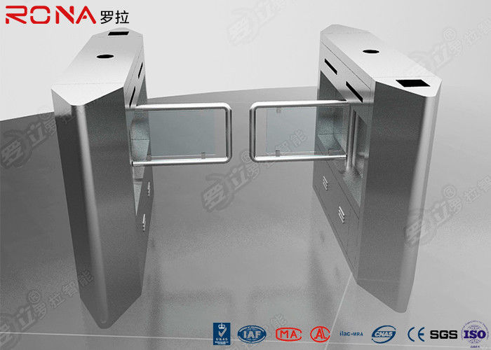 Security Access Control Swing Barrier Gate System With Rfid Identification