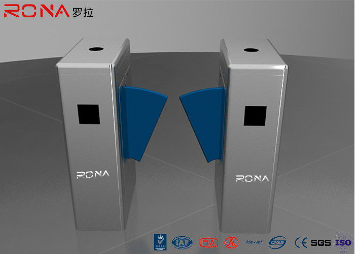 Rona Flap Security Barrier Gate Coin Collector Automatic Queue Access Control Turnstile