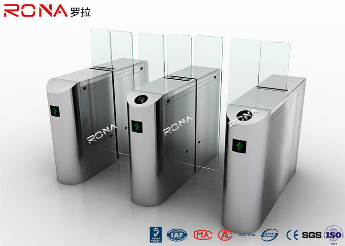 Full Height Sliding Barrier Gate , Access Control Barrier 220V AC Servo Motor